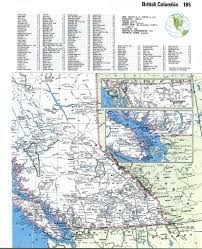 Map Of Canada With Cities by British Columbia Detailed Mapfree Maps Of North America