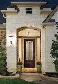 glass for front doors therma tru bella 3 4 lite door front door exterior pinterest
