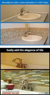 do it yourself bathroom vanity musselbound adhesive tile mat diy do it yourself bathroom vanity