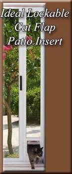 Cat Flap Patio Door Lockable Cat Flap Patio Pet Door