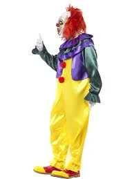killer clown costume horror killer clown costume