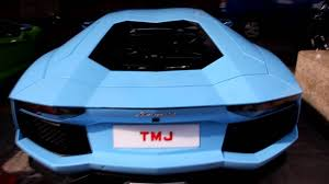 roll royce johor rare baby blue and verde ithaca aventadors park together youtube