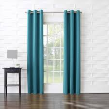 Eclipse Brand Curtains Curtains For Bedroom Blue Sky And White Clouds Printing Blue