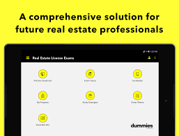 real estate exam for dummies android apps on google play