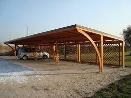tettoia legno auto tettoie in legno per auto tettoia di legno modulare per quattro