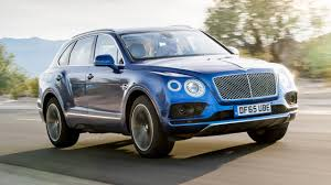 blue bentley 2016 review new bentley bentayga driven in the uk top gear