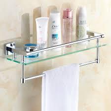 Glass Shelves Bathroom All Copper Bathroom Glass Shelf Bathroom Toilet Bathroom Mirror