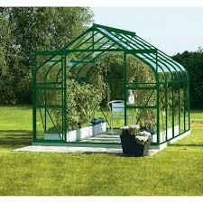 desserte de jardin leroy merlin serre de jardin en verre horticole diana 8300 8 25 m leroy merlin