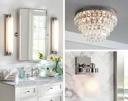 how to perfectly light your bathroom pottery barn