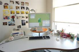 Office Desk Space Interior Cold Eskimo Setup Cool Home Office Desk Interior Goods