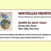 Nouvelles Fronti Jpic Nouvelles Et Mises à Jour Religious Of The Sacred