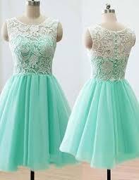 cheap short empire sweetheart mint green bridesmaid dresses