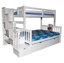 T Single Over Double Bunk Bed Furtado Furniture - Single double bunk beds