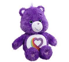 buy care bears rainbow heart 35th anniversary bear argos uk