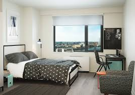 Tech Bedroom by Residences The House At Cornell Tech Roosevelt Island