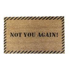 Outdoor Coir Doormats Rubber Cal U0027leave U0027 Coir Outdoor Door Mat Free Shipping On Orders