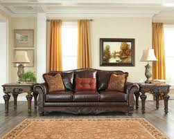 North Shore Bedroom Furniture By Ashley North Shore Plus Leather Coffee Sofa U0026 Loveseat