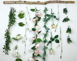 hanging flowers hanging flowers etsy