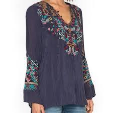 rayon blouse johnny was sheesoh rayon blouse blue