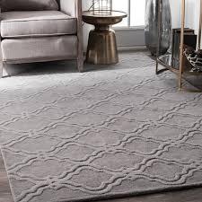 7 X 9 Wool Rug Nuloom Handmade Modern Trellis Fancy Wool Rug 7 U00276 X 9 U00276 Free