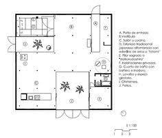 Japanese House Layout Romerhusene Formerly Kingo Houses Housing Development Helsingør
