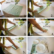 how to fold napkins for a wedding get sh t done how to set a table budget wedding grooms and how