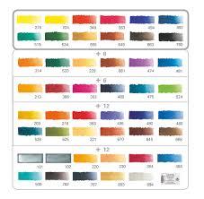 essential mixing colours in schmincke horadam watercolour