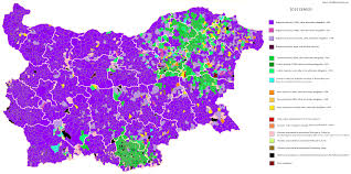 Montana Cadastral Map by Demographics Of Bulgaria Wikipedia