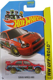 subaru wrx off road amazon com wheels hw off road subaru impreza wrx toys u0026 games