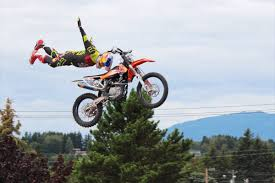 motocross freestyle snowmobile to backflip at motocross madness terrace standard