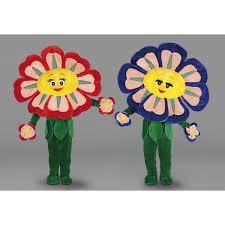 Daisy The Flower - the flower mascot costume