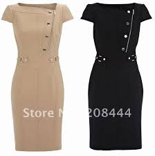 ol commute dresses career dress short sleeves dress pencil dress