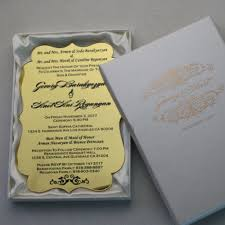engraved wedding invitations personalized luxury acrylic wedding invitation cards for free