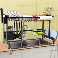 what size cabinet above sink chasstoo the sink dish drying rack above sink kitchen drain drainage rack stainless steel oversink decor dish drainer dishrack sink size