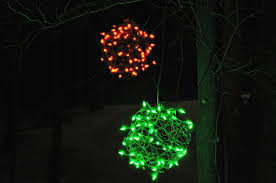 lighted balls outdoor lights 2013 decor and the