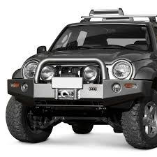 jeep liberty front bumper arb jeep liberty 2005 2007 deluxe full width front winch hd