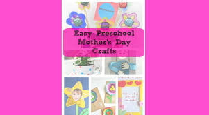 mother u0027s day crafts gift ideas great for preschool little kids