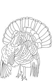 free coloring turkey print thanksgiving turkeys coloring