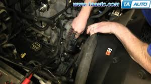 engine for ford f150 how to install replace engine serpentine belt 4 6l 5 4l v8 2004 08