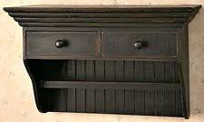 387 Best Rustic Or Primitive Wooden Farmhouse Wall Shelves Ebay