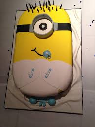 minions baby shower minion baby shower cake ideas lovely minion baby shower cake