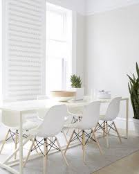 Best Dining Rooms Images On Pinterest Kitchen Home And Spaces - All white dining room