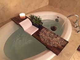 bathroom caddy ideas best 25 bathtub tray ideas on bath board garden tub