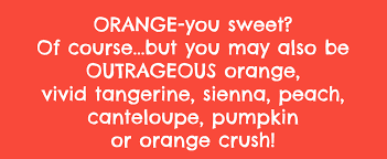 what color is orange soulful color orange the new positive the wellness universe blog
