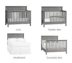 Black 4 In 1 Convertible Crib 4 In 1 Convertible Crib Pottery Barn