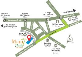 Mesa Zip Code Map by Maui Oasis Filinvest
