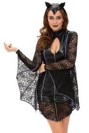 flirty vampire bat costume 2017 modest gothic vintage lace
