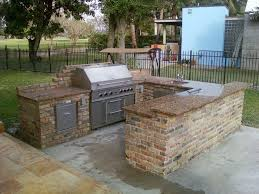 bbq kitchen ideas best 25 outdoor barbeque area ideas on outdoor