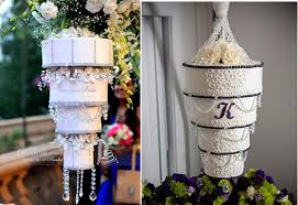 Upside Down Crystal Chandelier Chandelier Wedding Cakes Cake Geek Magazine