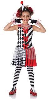 Clown Costumes U0027s Harlequin Clown Costume Candy Apple Costumes Creepy